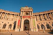 Neue Hofburg, Heldenplatz,  Wien, Österreich.|.Hofburg, Vienna, Austria