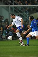 29.03.2003, Stadio Renzo Barbera, Palermo, Italy..UEFA European Championship Qualifying match, Italy v Finland..Shefki Kuqi - Finland.©Juha Tamminen