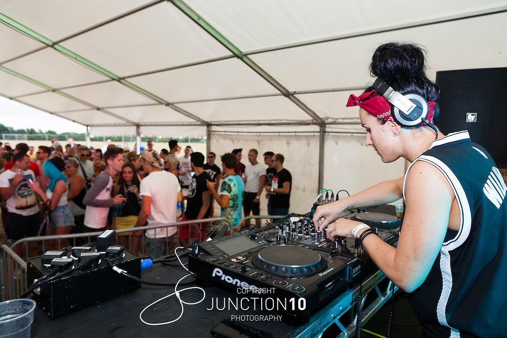 Dunton Hall Festival - at Dunton Hall, Kingsbury, United Kingdom<br /> Picture Date: 20 July, 2013