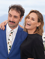 Director Michael Angelo Covino and actress Judith Godreche at The Climb film photo call at the 72nd Cannes Film Festival, Friday 17th May 2019, Cannes, France. Photo credit: Doreen Kennedy