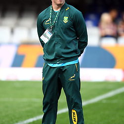 DURBAN, SOUTH AFRICA - AUGUST 18: Pieter-Steph du Toit of South Africa during the Rugby Championship match between South Africa and Argentina at Jonsson Kings Park on August 18, 2018 in Durban, South Africa. (Photo by Steve Haag/Gallo Images)