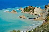 Grece, iles Ioniennes, Corfou, Cap Drastis vers Sidhari // Greece, Ionian island, Corfu island, Drastis Cape near Sidari village