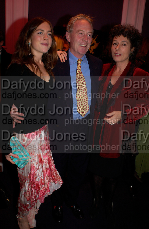 Natasha Llewellen, Mr. and Mrs. Roddy Llewellen, Hot Ice party hosted by Dominique Heriard Dubreuil and Theo Fennell, ( Remy Martin and theo Fennell) at 35 Belgrave Sq. London W1. 26 October 2004. ONE TIME USE ONLY - DO NOT ARCHIVE  © Copyright Photograph by Dafydd Jones 66 Stockwell Park Rd. London SW9 0DA Tel 020 7733 0108 www.dafjones.com