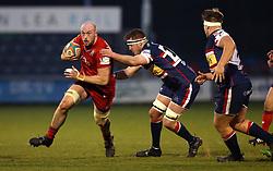 Joe Latta of Bristol Rugby - Mandatory by-line: Robbie Stephenson/JMP - 13/01/2018 - RUGBY - Castle Park - Doncaster, England - Doncaster Knights v Bristol Rugby - B&I Cup
