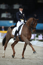 Lutkemeier Fabienne, (GER), D Agostino 5<br /> Grand Prix Dressage<br /> Stuttgart - German Masters 2015<br /> © Hippo Foto - Stefan Lafrentz