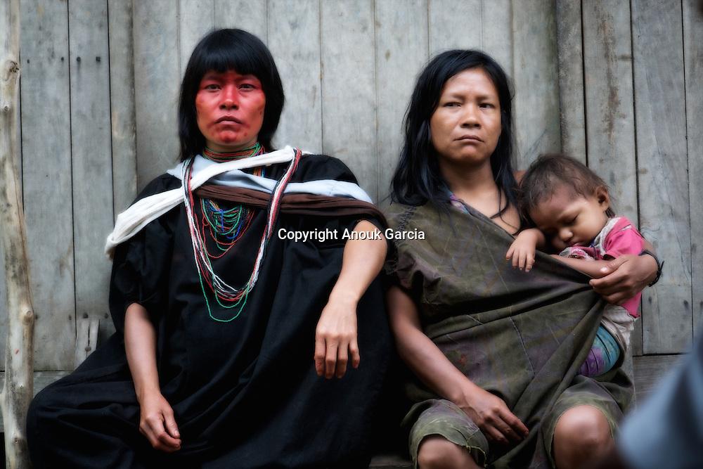 Femmes Ashaninka du Pérou. Rio Jurua.