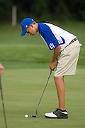 Golf Tops Manassas Park.Wednesday, 29 August 2007.The Golf  team defeated Manassas Park yesterday 168-197. Joe Canosa led the way with a 9 hole round of 40. Kyle Louk (41), Tyler Coppage (43) and Cory Hall (44) were the other low scorers for the Mountaineers. Madison is now 3-2 on the year and will travel to Rappahannock on Thursday for a 4:00 match....MCHS Golf.vs Manassas Park.August 28, 2007