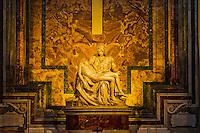 Italia - Roma - Pieta de Michelangelo - Foto: Gabriel Lordello/ Mosaico Imagem