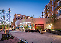 The Grilled Oyster Restaurant Exterior Image at Cathedral Commons in Wahington DC by Jeffrey Sauers of Commercial Photographics, Architectural Photo Artistry in Washington DC, Virginia to Florida and PA to New England
