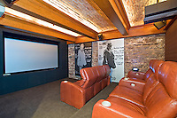 Media Room in NYC Townhouse