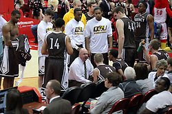 29 December 2014:  Marty Bell during an NCAA non-conference interdivisional exhibition game between the Quincy University Hawks and the Illinois State University Redbirds at Redbird Arena in Normal Illinois.