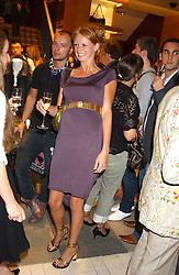 "Model OLIVIA INGE at a party hosted by Christopher Bailey to celebrate the launch of ""The Snippy World of New Yorker Fashion Artist Michael Roberts"" held at Burberry, 21-23 New Bond Street, London on 20th September 2005.<br />