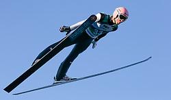 09.10.2014, Bergisel, Innsbruck, AUT, OeSV, Oesterreichische Staatsmeisterschaften Ski Nordisch, im Bild Manuel Fettner (AUT) // during Austrian Nordic Ski Championships at the Bergisel Hill, Innsbruck, Austria on 2014/10/09. EXPA Pictures © 2014, PhotoCredit: EXPA/ JFK