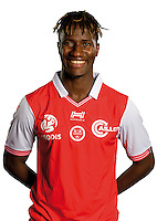 Ibrahima Balde of Reims during the photocall of Reims for new season of Ligue 2 on September 29th 2016 in Reims<br /> Photo : Stade de Reims / Icon Sport