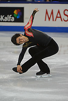 FOUR CONTINENTS FIGURE SKATING CHAMPIONSHIPS, VANCOUVER, BRITISH COLUMBIA, CANADA - FEBRUARY 5th 2009 - Men's Short Program, Luis Hernandez (MEX): Photo by Peter Llewellyn