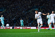 Leeds United defender Liam Cooper (6) during the EFL Sky Bet Championship match between Leeds United and Queens Park Rangers at Elland Road, Leeds, England on 2 November 2019.