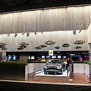 NLD/Amsterdam/20081213 - Miljonairfair 2008, stand van autofabrikant BMW