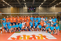 08-09-2018 NED: Netherlands - Argentina, Ede<br /> Second match of Gelderland Cup / Team Netherlands, Argentina, court crew