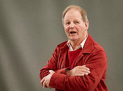 Edinburgh, Scotland, UK. 25 August, 2018. Pictured; Michael Morpurgo the children's author and the brains behind, War Horse, Flamingo Boy and Private Peaceful.