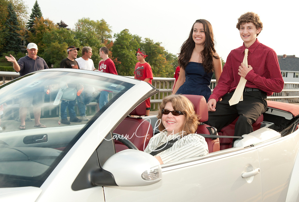 Laconia High School Homecoming Parade  September 24, 2010.