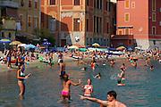 ITALY, Liguria, Sestri Levante: Baia del Silenzio.