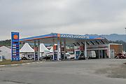 Georgian Petrol station Photographed at Batumi, Georgia