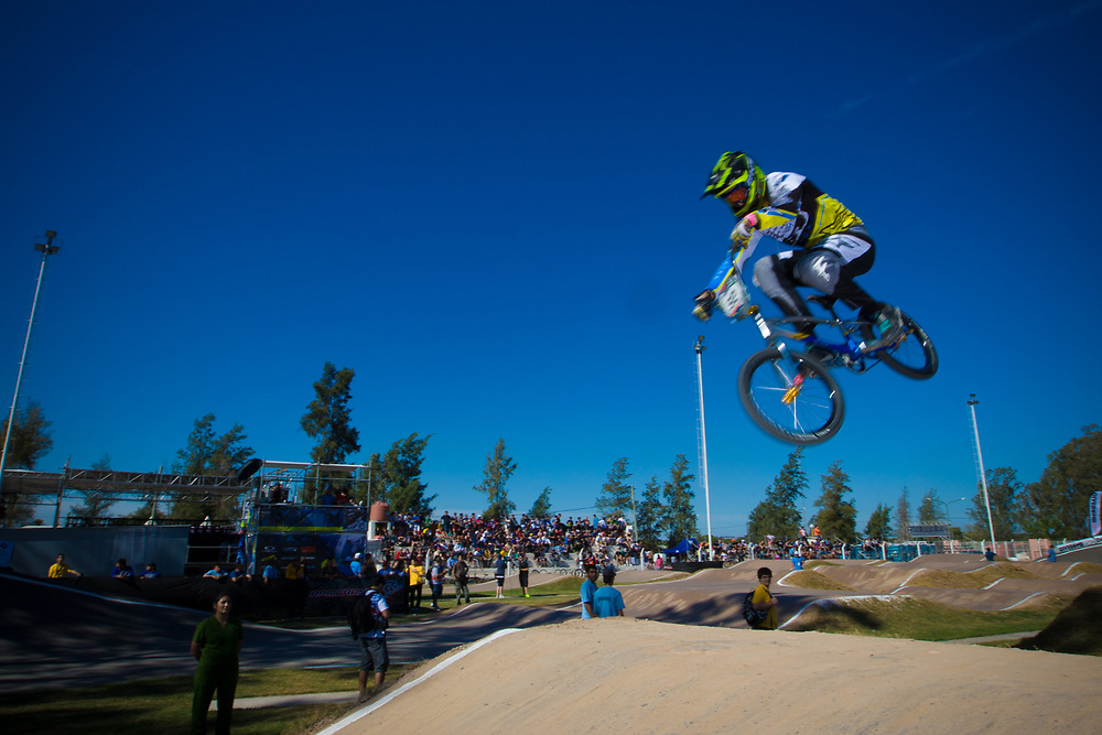 # 92 (JASPERS Martijn) NED at the UCI BMX Supercross World Cup in Santiago del Estero, Argintina.