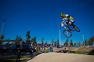 # 92 (JASPERS Martijn) NED at the UCI BMX Supercross World Cup in Santiago del Estero, Argintina.