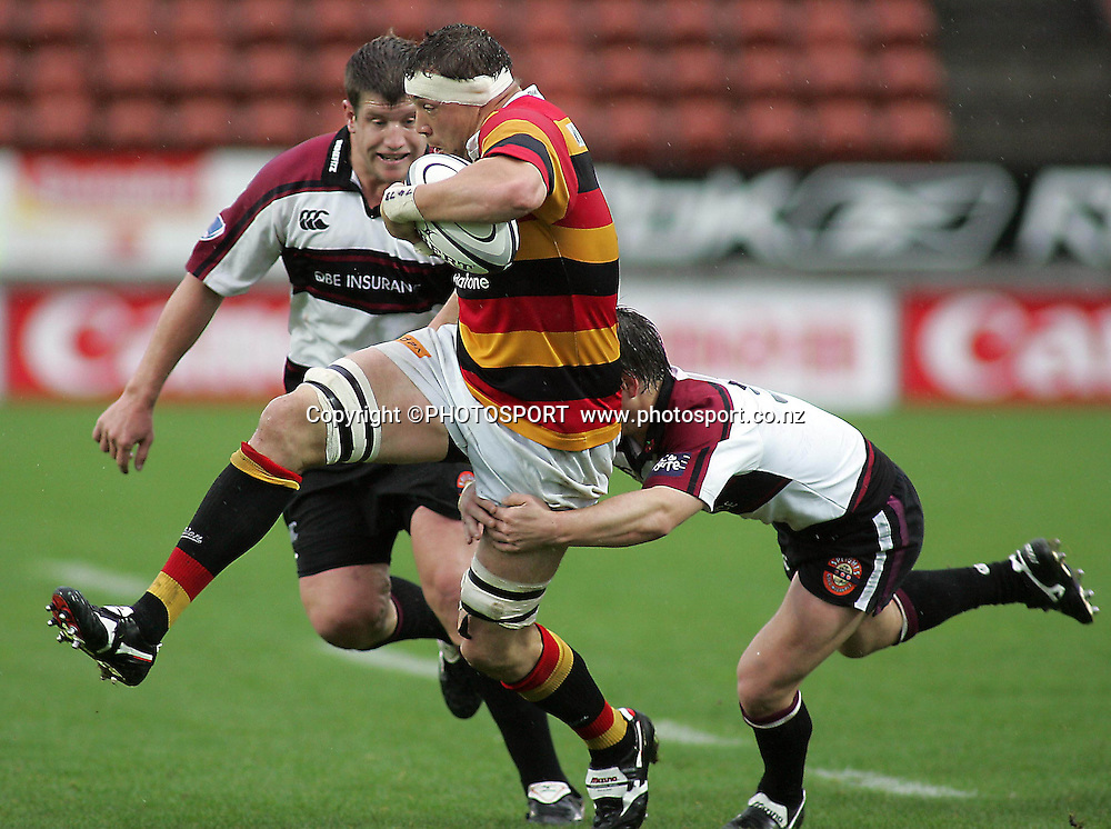 Waikato's Jono Gibbs during the Air NZ Cup rugby match between Waikato and North Harbour played at Waikato Stadium, Hamilton, New Zealand on Sunday 1 October  2006. Waikato won 31-15    Photo: Brett O'Callaghan/PHOTOSPORT