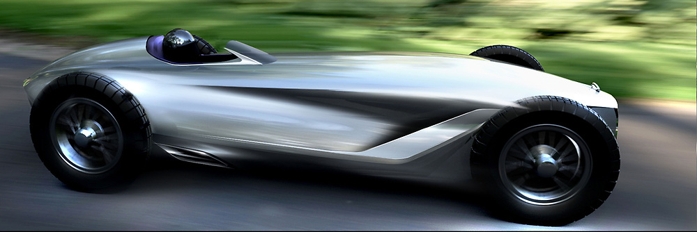 """August 16, 2017 - inconnu - A newconcept car inspired by classic racing cars has been unveiled by upmarket Nissan off-shot brand Infiniti.The Prototype 9 is an all-electric motor with designers imagining what an Infinity race car might have looked like in the 1940s – even though the firm is less than 30 years old.The Prototype 9 was hand-built by a small team as an """"out-of-work hours"""" project and combines a 70-year-old design with latest electric tech.Under the bonnet is a electric motor from parent company Nissan's Advanced Powertrain Department that will pump out 148bhp – although it's only good for 20 minutes of track use before needing a recharge.It's a rear-wheel drive racer and can reach 0-62mph in 5.5 seconds and hit a top speed of 106mph.The body is made from steel panels wrapped around a ladder frame with panels hammered into shape by craftsmen.The entire design takes inspiration from Japanese motorsport and aeronautic design.There's an exposed cockpit, open-wheel layout, 19-inch wire-spoke wheels and the double arch-grille that can be modern on modern day Infiniti vehiclesThe single-seater cabin is handmade with contrast red stitching and Japanese flags etched into the headrest.The speedo and other instrument dials are fitted into the centre of the steering wheel rather than on a traditional dash with the steering wheel rotating around the hub.Infiniti global design chief Alfonso Albaisa said: """"We discussed the idea of chancing upon an unrecognised race car, hidden away for decades in a barn, deep in the Japanese countryside.""""We wanted to explore what this looked like, what it would have been made of.""""Open-wheeled racers of the age were beautiful machines, elegant and powerful and with a wonderful purity of purpose.""""It's an automotive fantasy, but the notion captured our imaginations enough to put pencil to paper.""""Chairman and global president Roland Krueger aid a ma"""