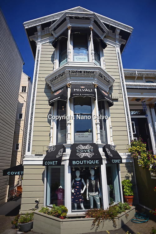 Covet boutique store in Russian Hill, San Francisco