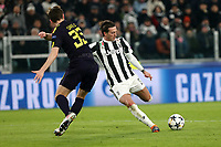 13.12.2018 - Torino - Champions League   -  Juventus-Tottenham nella  foto: Federico Bernardeschi