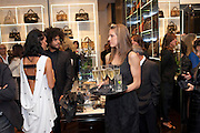 CAROLYN OWLETT; JAGGA, Party to celebrate the launch of the new Cavalli Store. Roberto Cavalli. Sloane st. London. 17 September 2011. <br /> <br />  , -DO NOT ARCHIVE-© Copyright Photograph by Dafydd Jones. 248 Clapham Rd. London SW9 0PZ. Tel 0207 820 0771. www.dafjones.com.