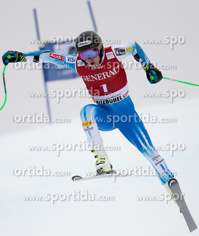 23.01.2015, Streif, Kitzbuehel, AUT, FIS Ski Weltcup, Supercombi Super G, Herren, im Bild Ted Ligety (USA) // Ted Ligety of the USA in action during the men's Super Combined Super-G of Kitzbuehel FIS Ski Alpine World Cup at the Streif Course in Kitzbuehel, Austria on 2015/01/23. EXPA Pictures © 2015, PhotoCredit: EXPA/ Johann Groder