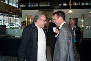 DR. GERHARD CHARLES RUMP; PETER WILDE, Brunch to celebrate the launch of Art HK 11. Miss Yip Chinese Cafe. Meridian ave,  Miami Beach. 3 December 2010. -DO NOT ARCHIVE-© Copyright Photograph by Dafydd Jones. 248 Clapham Rd. London SW9 0PZ. Tel 0207 820 0771. www.dafjones.com.