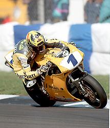 PAOLO CASOLI DUCATI  ITALY World Supersport Championship Round 2 Donington Park 13th April 1998