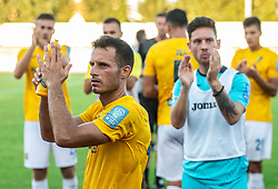 Jaka Ihbeisheh of Bravo following the football match between NK Bravo and NK Aluminij in 5th Round of Prva liga Telekom Slovenije 2019/20, on August 9, 2019 in Sports park ZAK, Ljubljana, Slovenia. Photo by Vid Ponikvar / Sportida
