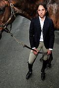 Portrait of rider at the Devon Horse Show