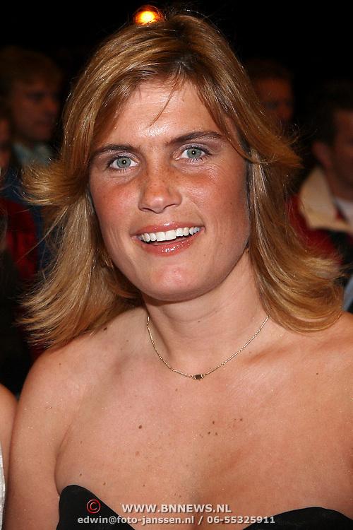 NLD/Utrecht/20070928 - Premiere film Goud over Nederlands dames hockeyelftal, Evelien de Haan