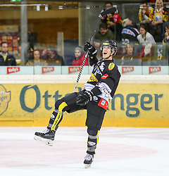 30.01.2015, Albert Schultz Eishalle, Wien, AUT, EBEL, UPC Vienna Capitals vs Dornbirner Eishockey Club, 43. Runde, im Bild Olivier Magnan Grenier (Dornbirner Eishockey Club) // during the Erste Bank Icehockey League 43th round match between UPC Vienna Capitals and Dornbirner Eishockey Club at the Albert Schultz Ice Arena in Vienna, Austria on 2015/01/30. EXPA Pictures © 2015, PhotoCredit: EXPA/ Alexander Forst
