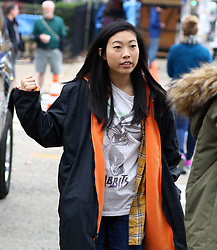 November 9, 2016 - New York, New York, United States - Actress Awkwafina was on the Brooklyn set of the new movie 'Ocean's Eight' on November 9 2016 in New York City  (Credit Image: © Zelig Shaul/Ace Pictures via ZUMA Press)