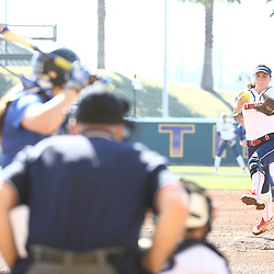 During a softball game between Liberty University and Memphis at LSU Tiger Park in Baton Rouge Louisiana. Photo by Derick E. Hingle/Liberty University