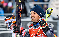 13.11.2016, Black Race Course, Levi, FIN, FIS Weltcup Ski Alpin, Levi, Slalom, Herren, 2. Lauf, im Bild 3. Platz Manfred Moelgg (ITA) // 3rd placed Manfred Moelgg of Italy  reacts after his 2nd run of mens Slalom of FIS ski alpine world cup at the Black Race Course in Levi, Finland on 2016/11/13. EXPA Pictures © 2016, PhotoCredit: EXPA/ Nisse Schmidt<br /> <br /> *****ATTENTION - OUT of SWE*****