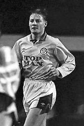 David Batty Leed United, Coventry v Leeds United, First Division, Highfield Road,  1991