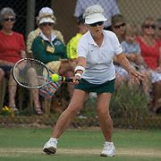Margaret Robinson, Australia, winning the 75 Womens  Singles Final during the 2009 ITF Super-Seniors World Team and Individual Championships at Perth, Western Australia, between 2-15th November, 2009.