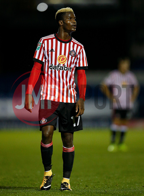 Didier Ndong of Sunderland - Mandatory by-line: Matt McNulty/JMP - 10/08/2017 - FOOTBALL - Gigg Lane - Bury, England - Bury v Sunderland - Carabao Cup - First Round
