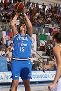 DESCRIZIONE : Ortona Italy Italia Eurobasket Women 2007 Bielorussia Italia Belarus Italy <br /> GIOCATORE : Dubravka Dacic <br /> SQUADRA : Nazionale Italia Donne Femminile EVENTO : Eurobasket Women 2007 Campionati Europei Donne 2007 <br /> GARA : Bielorussia Italia Belarus Italy <br /> DATA : 03/10/2007 <br /> CATEGORIA : Tiro  <br /> SPORT : Pallacanestro <br /> AUTORE : Agenzia Ciamillo-Castoria/S.Silvestri Galleria : Eurobasket Women 2007 <br /> Fotonotizia : Ortona Italy Italia Eurobasket Women 2007 Bielorussia Italia Belarus Italy <br /> Predefinita :