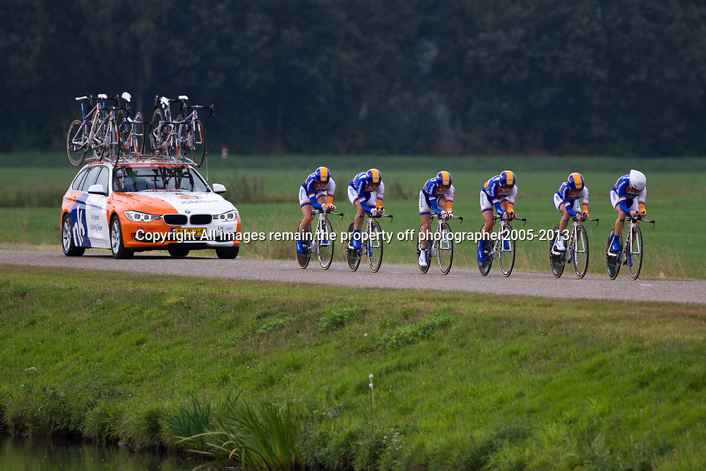 Boels Rental Ladiestour 2013 Team Time Trail Coevorden Rabobank-Liv Giant 3th