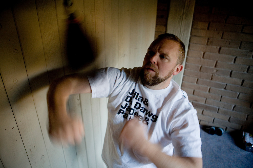 Filmmaker Joe Carnahan at his Fair Oaks home on Friday, December 22, 2006.