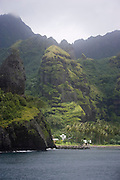 Bay of Virgins, Hanavave, Island of Fatu Hiva, Marquesas Islands, French Polynesia<br />